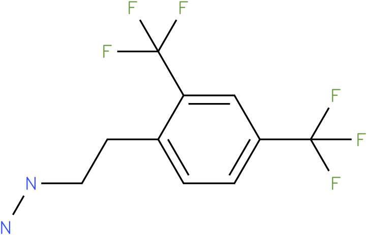 1-(2,4-bis(trifluoromethyl)phenethyl)hydrazine