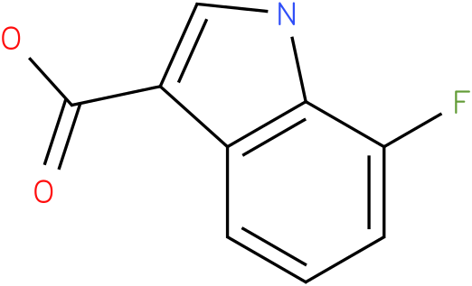 1H-INDOLE-3-CARBOXYLIC ACID,7-FLUORO