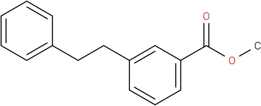 BENZOIC ACID,3-(2-PHENYLETHYL)-,METHYL ESTER