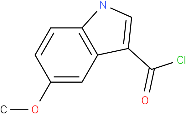 5-METHOXY-1H-INDOLE-3-CARBONYL CHLORIDE
