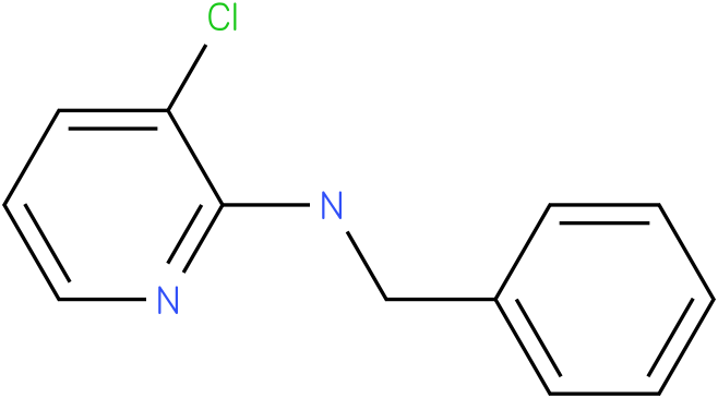 2-Pyridinamine,3-chloro-N-(phenylmethyl)-