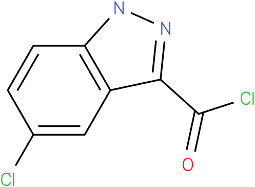 5-CHLORO-1H-INDAZOLE-3-CARBONYL CHLORIDE