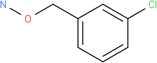 Hydroxylamine,O-[(3-chlorophenyl)methyl]-