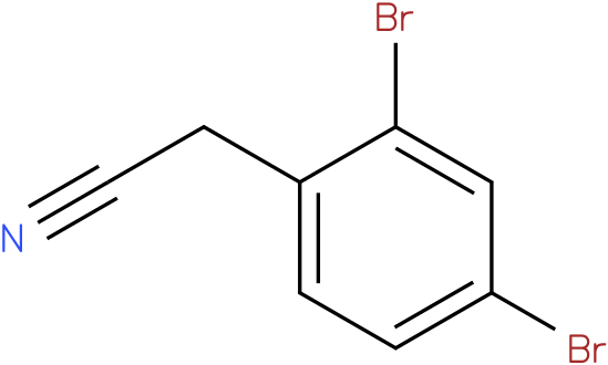 2-(2,4-dibromophenyl)acetonitrile