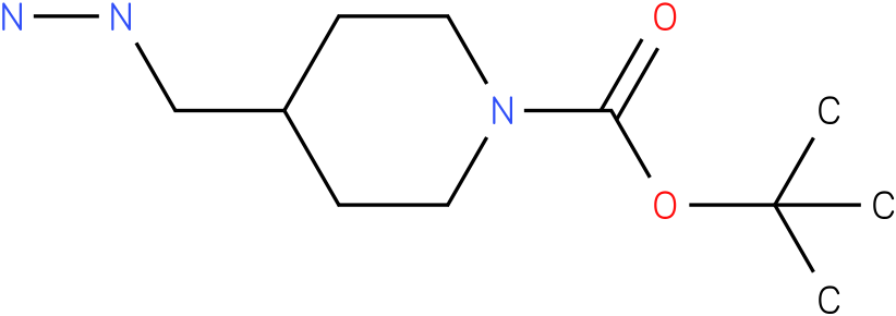 1-Piperidinecarboxylic acid,4-(hydrazinylmethyl)-1,1-dimethylethyl ester