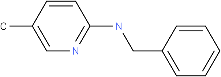 2-Pyridinamine,5-methyl-N-(phenylmethyl)-