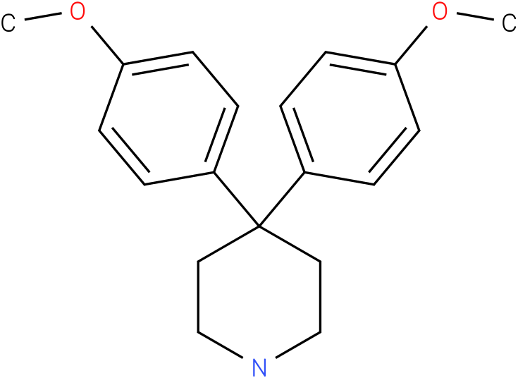 4,4-bis(4-methoxyphenyl)piperidine