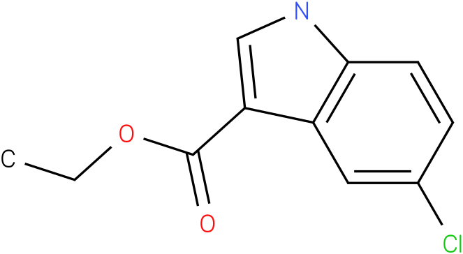 1H-INDOLE-3-CARBOXYLIC ACID,5-CHLORO-,ETHYL ESTER