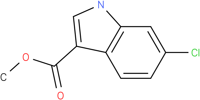 1H-INDOLE-3-CARBOXYLIC ACID,6-CHLORO-,METHYL ESTER