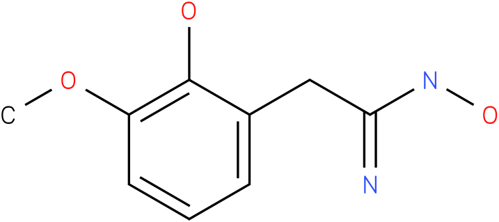 BENZENEETHANIMIDAMIDE,N,2-DIHYDROXY-3-METHOXY