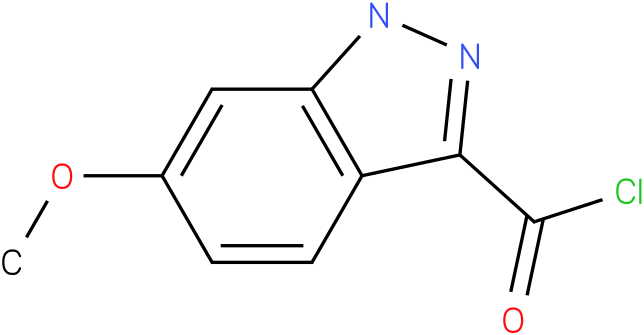 6-METHOXY-1H-INDAZOLE-3-CARBONYL CHLORIDE