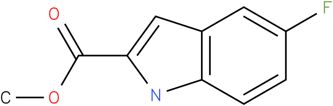 1H-INDOLE-2-CARBOXYLIC ACID,5-FLUORO-,METHYL ESTER
