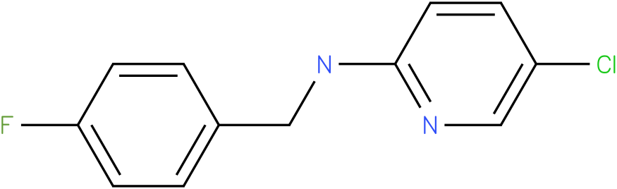 2-Pyridinamine,5-chloro-N-[(4-fluorophenyl)methyl]-
