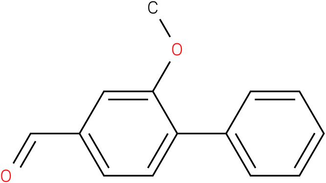 [1,1'-BIPHENYL]-4-CARBOXALDEHYDE,2-METHOXY-