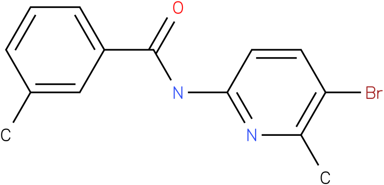 Benzamide,N-(5-bromo-6-methyl-2-pyridinyl)-3-methyl-