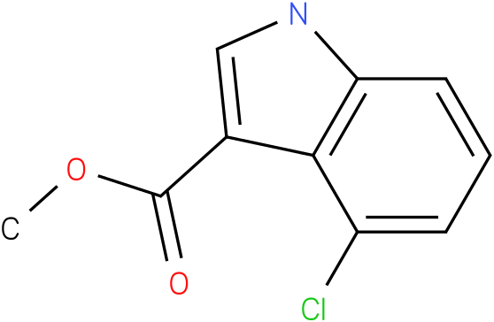 1H-INDOLE-3-CARBOXYLIC ACID,4-CHLORO-,METHYL ESTER