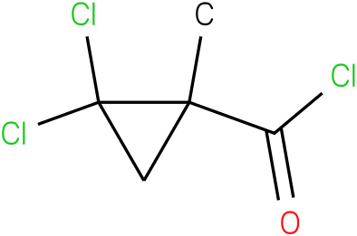 CYCLOPROPANECARBONYL CHLORIDE,2,2-DICHLORO-1-METHYL-