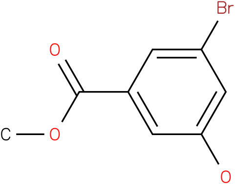 Benzoic acid,3-bromo-5-hydroxy-,methyl ester