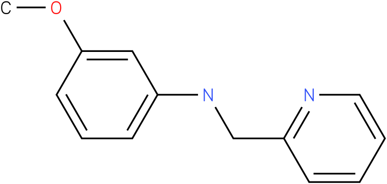 3-methoxy-N-((pyridin-2-yl)methyl)benzenamine