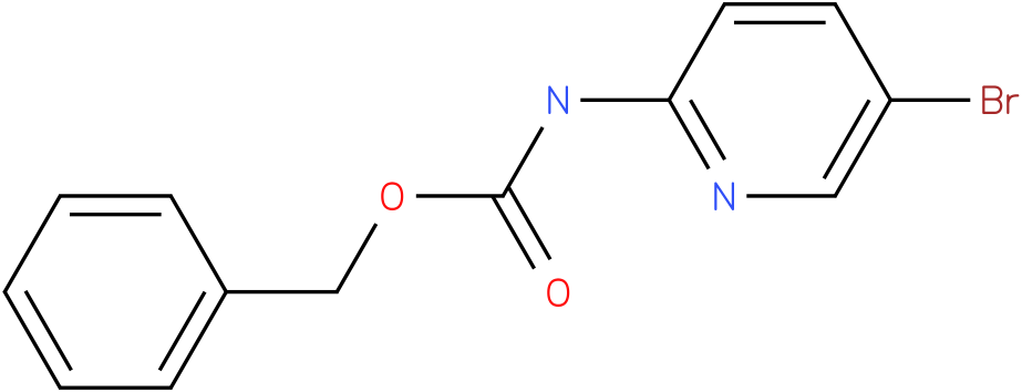 Carbamic acid,(5-bromo-2-pyridinyl)-,phenylmethyl ester (9Cl)