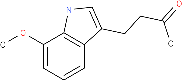 2-BUTANONE,4-(7-METHOXY-1H-INDOL-3-YL)-