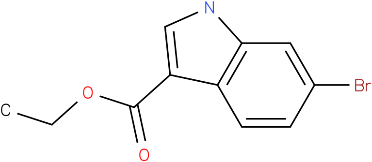 1H-INDOLE-3-CARBOXYLIC ACID,6-BROMO-.ETHYL ESTER