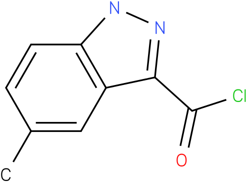 5-METHYL-1H-INDAZOLE-3-CARBONYL CHLORIDE