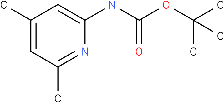 Carbamic acid,N-(4,6-dimethyl-2-pyridinyl)-,1,1-dimethylethyl ester