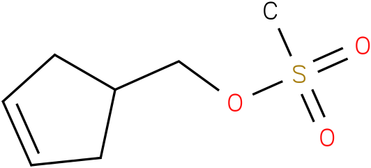 3-Cyclopentene-1-methanol,1-methansulfonate