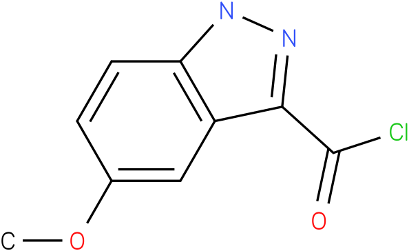 5-METHOXY-1H-INDAZOLE-3-CARBONYL CHLORIDE
