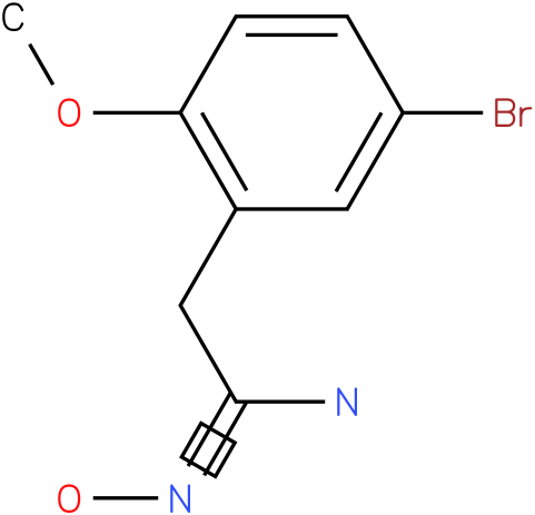 ACETAMIDOXIME,2-(5-BROMO-2-METHOXYPHENYL)-(7Cl,8Cl)