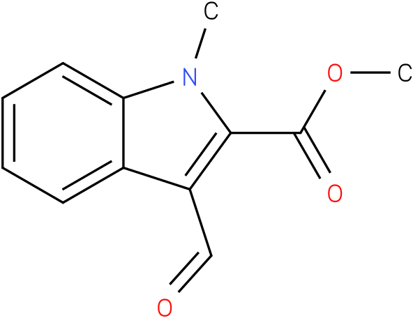 1H-INDOLE-2-CARBOXYLIC ACID,3-FORMYL-1-,METHYL ESTER