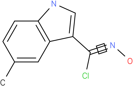 5-METHYL-1H-INDOLE-3-CARBOXIMIDOYL CHLORIDE,N-HYDROXY
