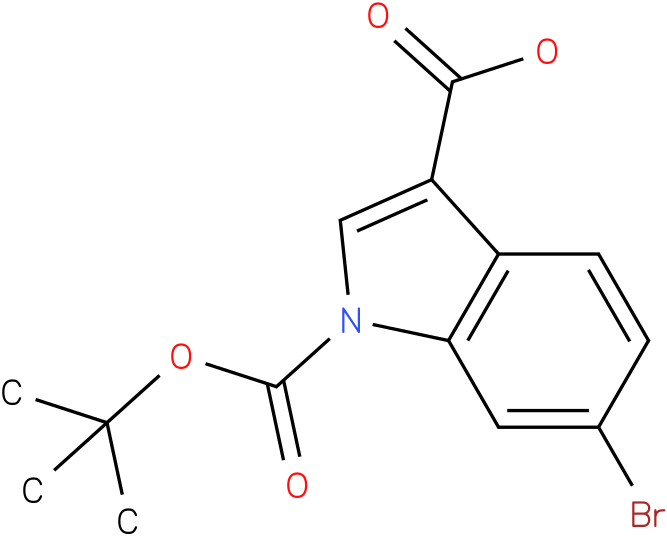 1H-INDOLE-1,3-DICARBOXYLIC ACID,6-BROMO-,1-(1,1-DIMETHYLETHYL)ESTER