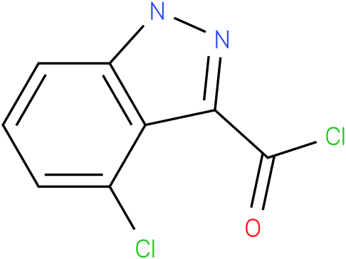 4-CHLORO-1H-INDAZOLE-3-CARBONYL CHLORIDE