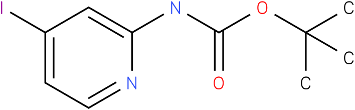 CARBAMIC ACID,(4-IODO-2-PYRIDINYL)-,1,1DIMETHYLETHYL ESTER (9Cl)