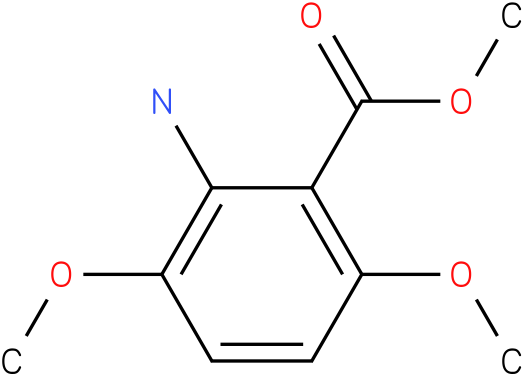 Benzoic acid,2-amino-3,6-dimethoxy-,methyl ester