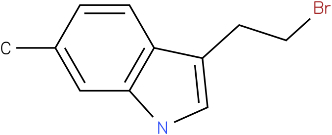 3-(2-BROMOETHYL)-6-METHYL-1H-INDOLE