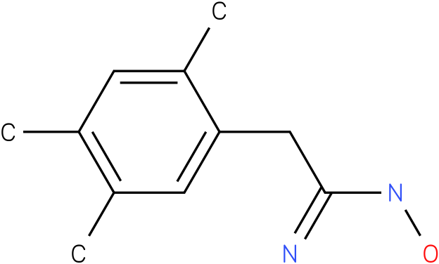 BENZENEETHANIMIDAMIDE,N-HYDROXY-2,4,5-TRIMETHYL