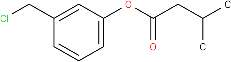 3-(Chloromethyl)phenyl 3-methylbutanoate