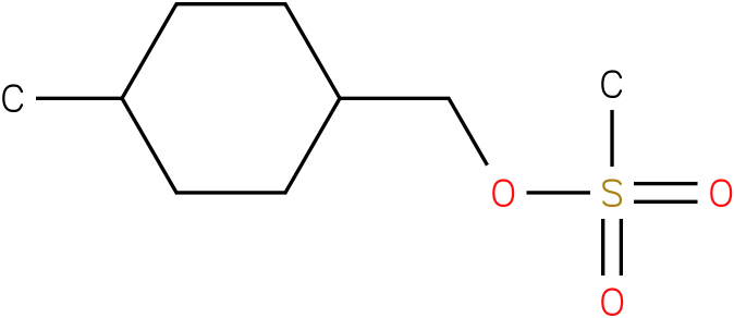 Cyclohexanemethanol,4-methyl-,1-methansulfonate