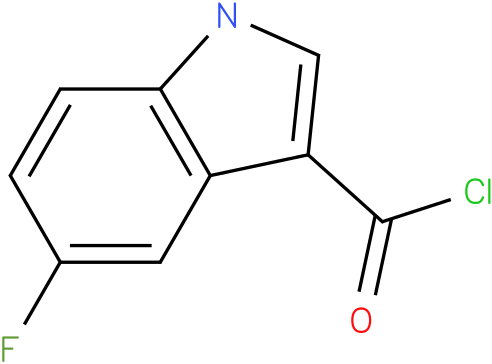 1H-INDOLE-3-CARBONYL CHLORIDE,5-FLUORO-