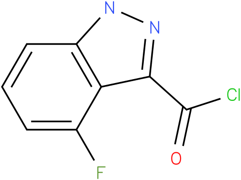 4-FLUORO-1H-INDAZOLE-3-CARBONYL CHLORIDE