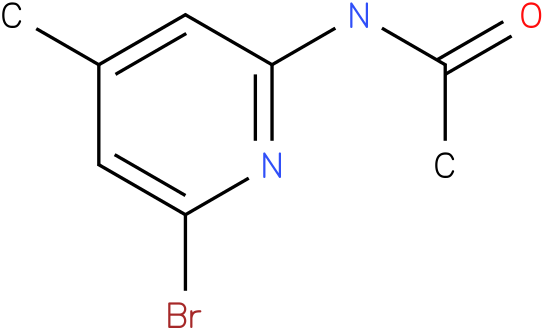 Acetamide,N-(6-bromo-4-methyl-2-pyridinyl)-