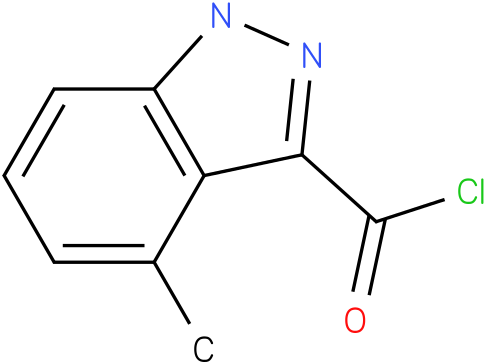 4-METHYL-1H-INDAZOLE-3-CARBONYL CHLORIDE