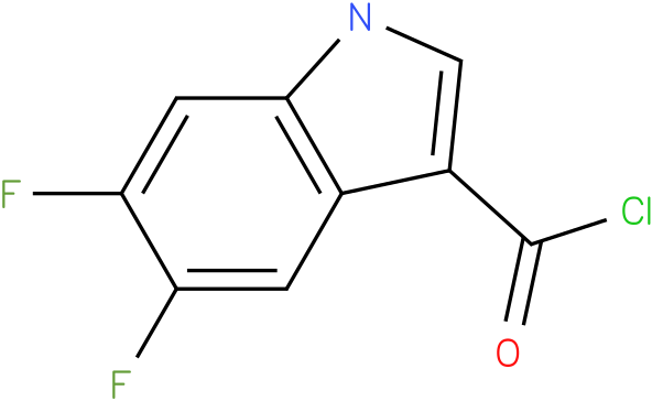 5,6-DIFLUORO-1H-INDOLE-3-CARBONYL CHLORIDE