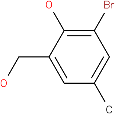 BENZENEMETHANOL,3-BROMO-2-HYDROXY-5-METHYL-