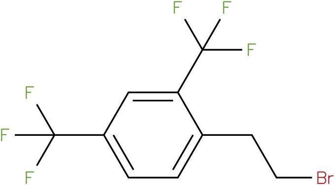 1-(2-bromoethyl)-2,4-bis(trifluoromethyl)benzene