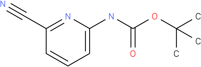 CARAMIC ACID,(6-CYANO-2-PYRIDINYL)-,1,1-DIMETHYLETHYL ESTER (9Cl)