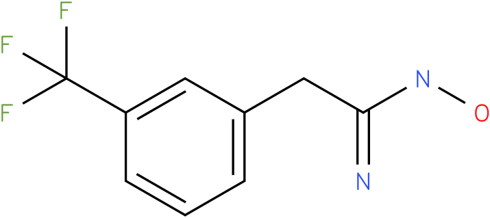 BENZENEETHANIMIDAMIDE,N-HYDROXY-3-(TRIFLUOROMETHYL)